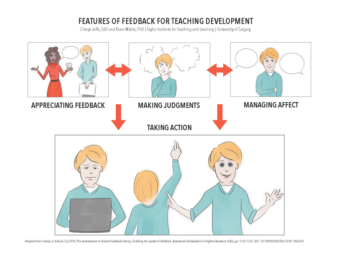 Features of Feedback for Teaching Development